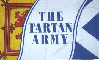 Flagge Fahne Schottland Tartan Army 90 x 150 cm - Vorschau