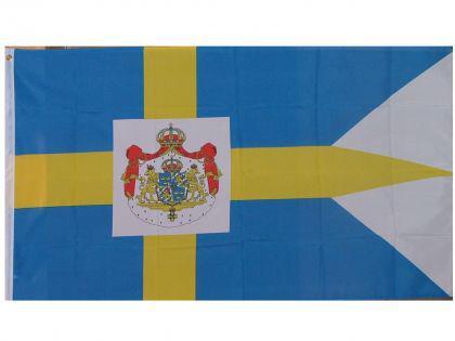 Flagge Fahne Schweden Royal 90x 150 cm - Vorschau