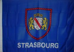 Flagge Fahne Straßburg Wappen 90 x 150 cm - Vorschau
