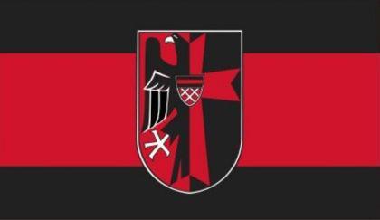 Flagge Fahne Sudetenland Adler 90 x 150 cm - Vorschau