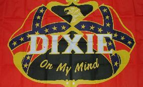 Flagge Fahne Südstaaten Dixie my mind 90 x 150 cm - Vorschau