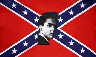 Flagge Fahne Südstaaten Elvis 90 x 150 cm