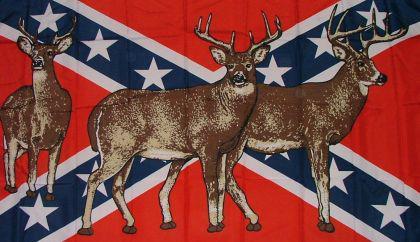 Flagge Fahne Südstaaten Rehe 90 x 150 cm - Vorschau