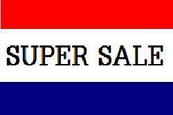 Flagge Fahne Super Sale 90 x 150 cm - Vorschau