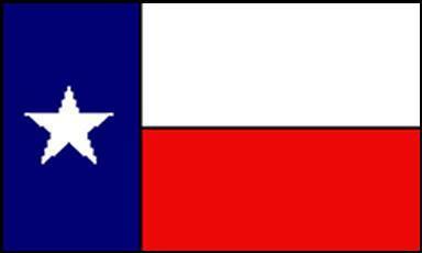 Flagge Fahne Texas 90 x 150 cm