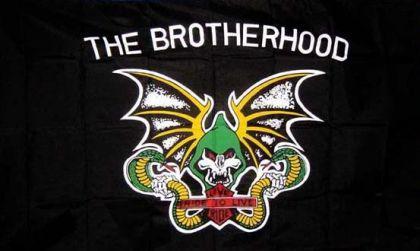 Flagge Fahne The Brotherhood 90 x 150 cm