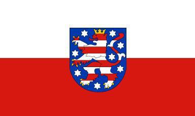 Flagge Fahne Thüringen 90 x 150 cm - Vorschau
