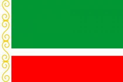 Flagge Fahne Tschetchenien 90 x 150 cm - Vorschau