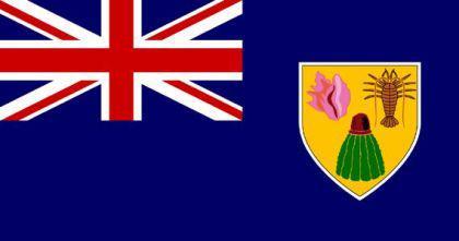 Flagge Fahne Turks & Caicosinseln 90 x 150 cm - Vorschau