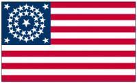 Flagge Fahne USA 34 Sterne P D 90 x 150 cm - Vorschau