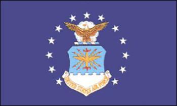 Flagge Fahne USA Airforce 90 x 150 cm