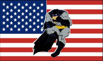Flagge Fahne US Batman 90 x 150 cm - Vorschau