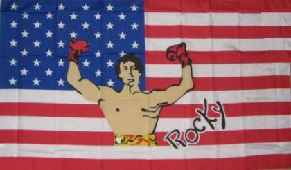 Flagge Fahne USA Rocky 90 x 150 cm