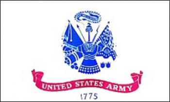 Flagge Fahne US Army 90 x 150 cm - Vorschau