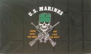 Flagge Fahne US Marines 90 x 150 cm