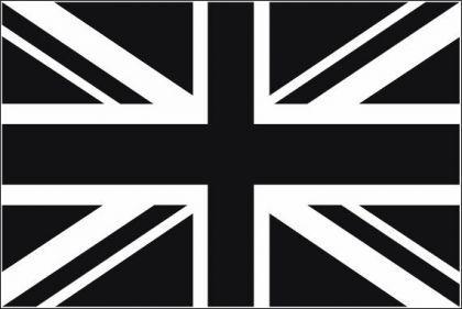 Flagge Fahne Grossbritannien schwarz 90 x 150 cm - Vorschau