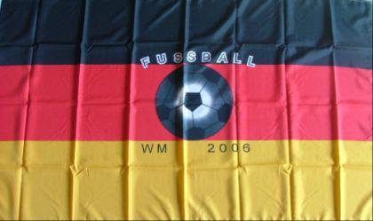 Flagge Fahne Deutschland WM 2006 90 x 150 cm - Vorschau