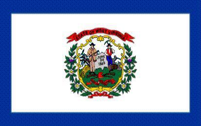 Flagge Fahne West Virginia 90 x 150 cm - Vorschau