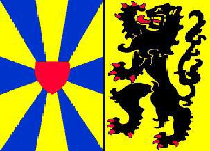 Flagge Fahne Westflandern (inoff.) 90 x 150 cm - Vorschau