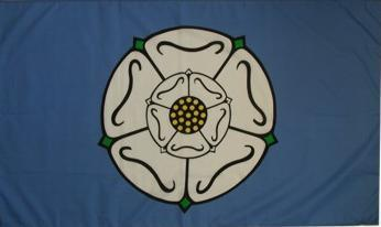 Flagge Fahne Yorksire 90 x 150 cm