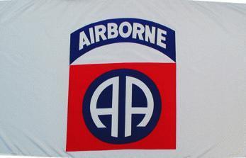 Flagge Fahne Airborne 90 x 150 cm - Vorschau