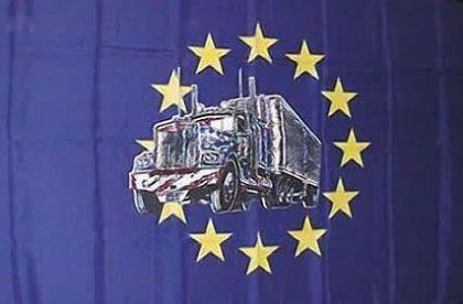 Flagge Fahne Europa LKW 90 x 150 cm - Vorschau