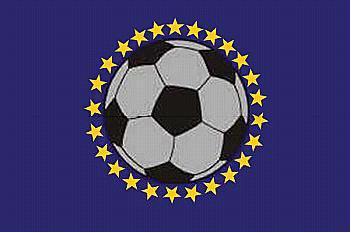 Flagge Fahne Europa Fussball 90 x 150 cm - Vorschau