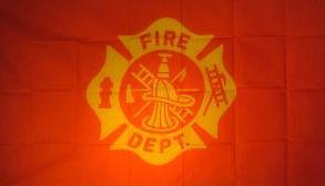 Flagge Fahne Fire Department 90 x 150 cm - Vorschau