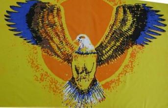Flagge Fahne Fliegender Adler 90 x 150 cm - Vorschau
