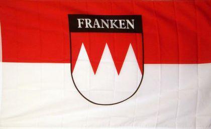 Flagge Fahne Franken Schrift 90 x 150 cm