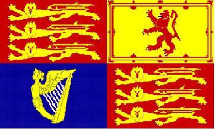 Flagge Fahne Großbritannien Royal 90 x 150 cm - Vorschau