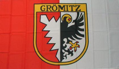 Flagge Fahne Grömitz 90 x 150 cm - Vorschau