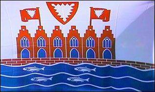 Flagge Fahne Heiligenhaven 90 x 150 cm - Vorschau