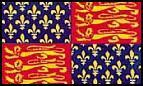Flagge Fahne King Edward III 90 x 150 cm - Vorschau
