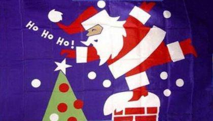 Flagge Fahne Ho Ho Ho 90 x 150 cm
