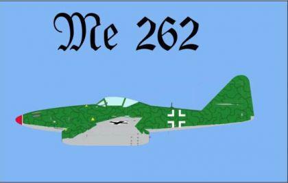 Flagge Fahne ME 262 90 x 150 cm - Vorschau