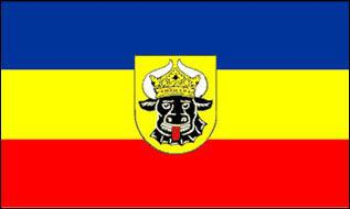 Flagge Fahne Mecklenburg Ochsenkopf 90 x 150 cm - Vorschau