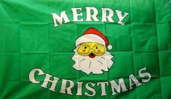Flagge Fahne Merry Christmas III 90 x 150 cm - Vorschau