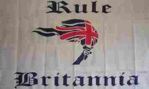 Flagge Fahne Rule Britannia 90 x 150 cm - Vorschau