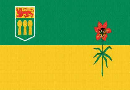 Flagge Fahne Saskatschewan 90 x 150 cm - Vorschau