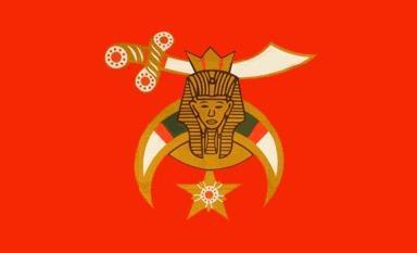 Flagge Fahne Shriners 90 x 150 cm - Vorschau