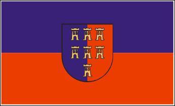 Flagge Fahne Siebenbürgen Sachsen 90 x 150 cm
