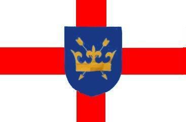 Flagge Fahne St. Edmund of Suffolk 90 x 150 cm - Vorschau