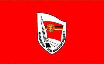 Flagge Fahne DDR STASI 90 x 150 cm - Vorschau