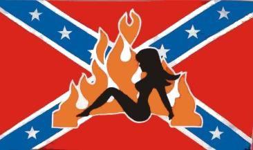 Flagge Fahne Südstaaten Lady 90 x 150 cm - Vorschau
