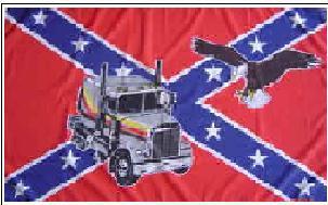 Flagge Fahne Südstaaten Truck Adler 90 x 150 cm