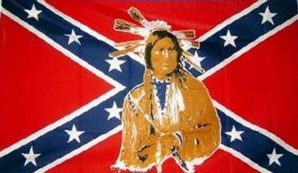 Flagge Fahne Südstaaten Indianer 90 x 150 cm - Vorschau