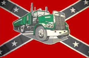 Flagge Fahne Südstaaten Tank-Truck 90 x 150 cm - Vorschau