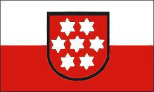 Flagge Fahne Thüringen bis 1989 90 x 150 cm