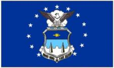 Flagge Fahne Airforce Academy 90 x 150 cm